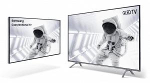 "TELEVISOR QLED SMART TV SAMSUNG 55"" UHD 4K 14"