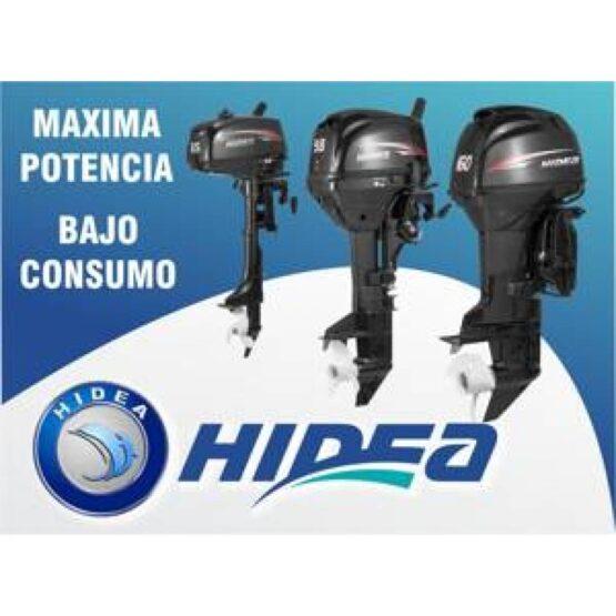 MOTOR FUERA DE BORDA HIDEA 15HP 2T PATA CORTA 3