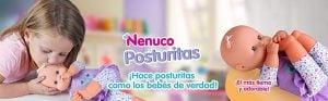 Muñeco Nenuco Blandito Poses de Bebé. 4