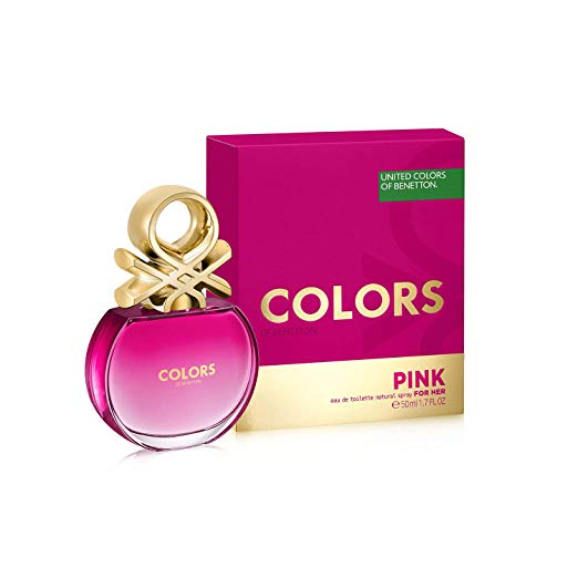 Perfume Colors Pink Benetton EDT FOR HER 1