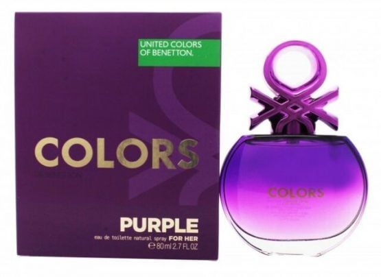 Perfume Colors Purple Benetton EDT FOR HER 4