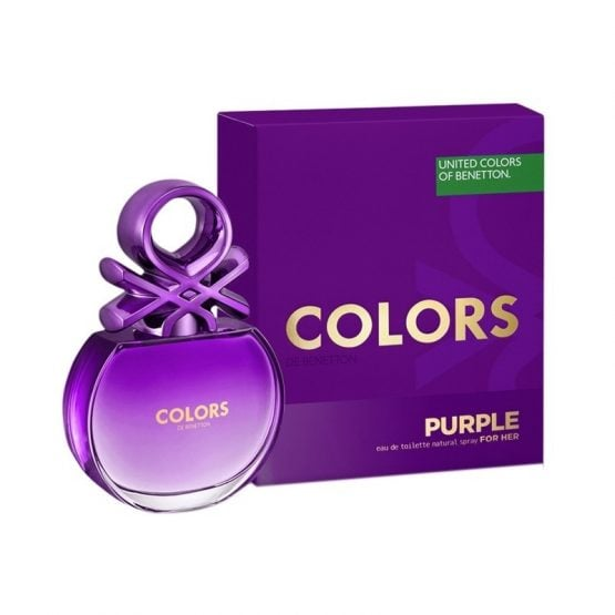 Perfume Colors Purple Benetton EDT FOR HER 1