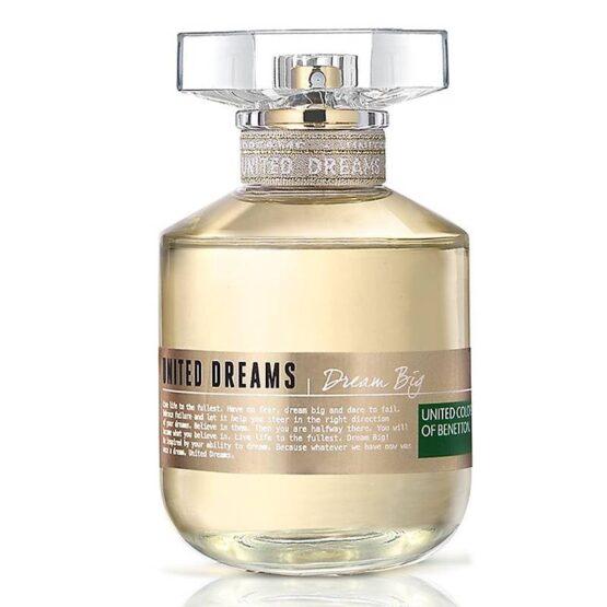 PERFUME BENETTON DREAM BIG ETD FOR HER 4