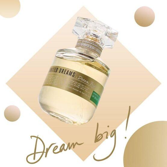 PERFUME BENETTON DREAM BIG ETD FOR HER 5