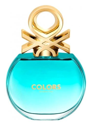 PERFUME BENETTON Colors Blue EDT FOR HER 4