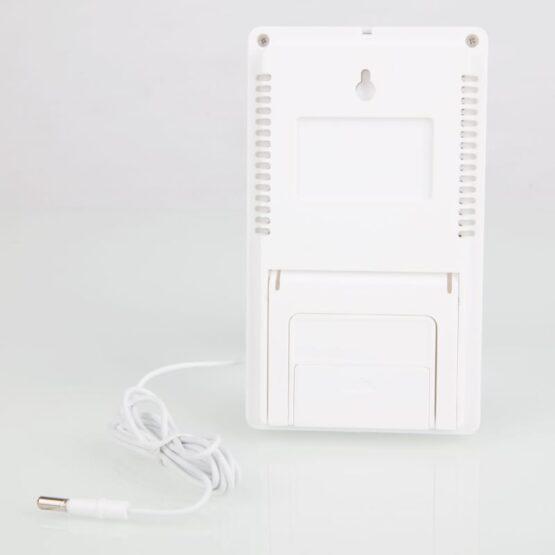 Reloj Termometro & Higrometro Digital Medidor de Humedad 6
