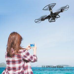 DRONE CON CAMARA HD HOLY STONE 6