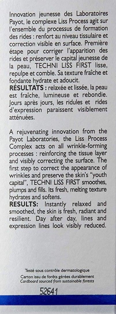 Crema Payot Paris Techni Liss para primeras arrugas 4