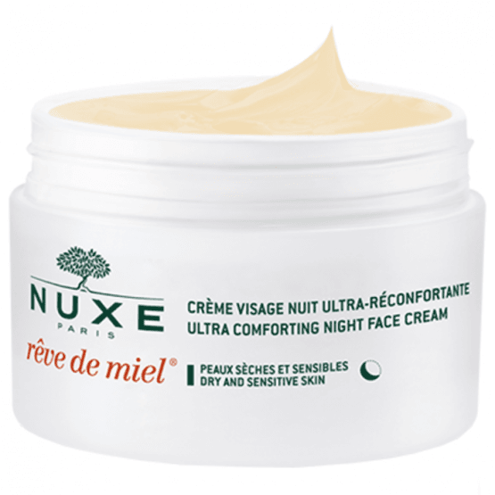 Crema de Noche Ultraconfortante Nuxe Paris Reve de Miel® 2