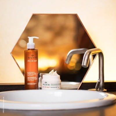 Gel Limpiador y Desmaquillante Nuxe Paris Reve de miel® 3