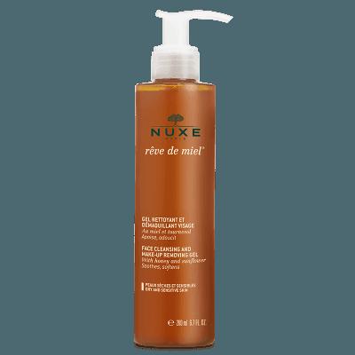 Gel Limpiador y Desmaquillante Nuxe Paris Reve de miel® 1