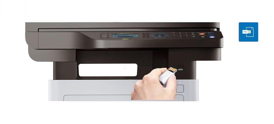 Impresora Samsung Multifuncion Laser SL-M4072FD Monocromatica 5