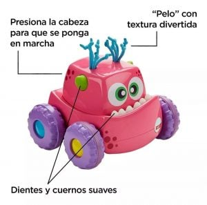 Fisher Price Monstruo Presiona Y Persigue 8