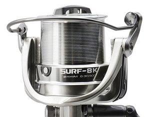 Reel Lance Okuma Surf 8K 5+1BB Rel:4,7:1 17