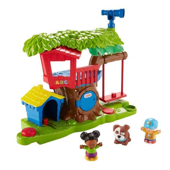 Little People Surtido de Playsets Casa del Arbol y Mercado - Fisher Price 1