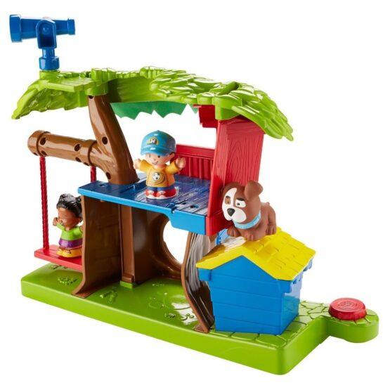 Little People Surtido de Playsets Casa del Arbol y Mercado - Fisher Price 5
