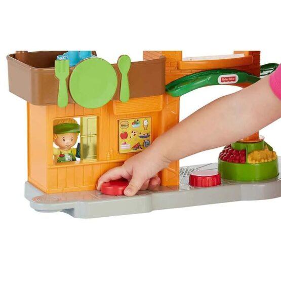Little People Surtido de Playsets Casa del Arbol y Mercado - Fisher Price 3