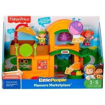 Little People Surtido de Playsets Casa del Arbol y Mercado - Fisher Price 4