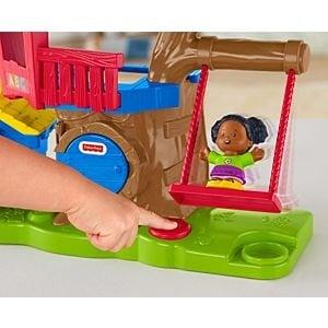 Little People Surtido de Playsets Casa del Arbol y Mercado - Fisher Price 6
