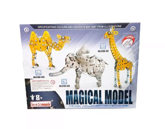 Juego Metalico para Armar Camello Mecano 206 Piezas 1