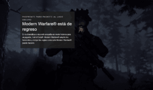 Juego Oficial PS4 Call of Duty®: Modern Warfare 4