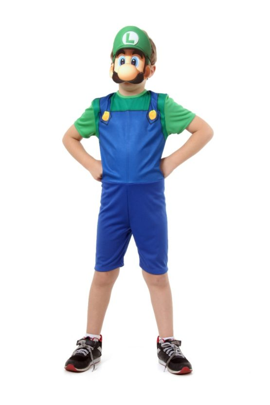 Disfraz Infantil Corto Luigi Super Pop 1