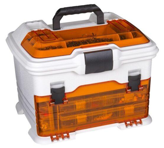 Caja Flambeau T4 Pro Multilader +5 Organizadores C/Zerust Naranja 1