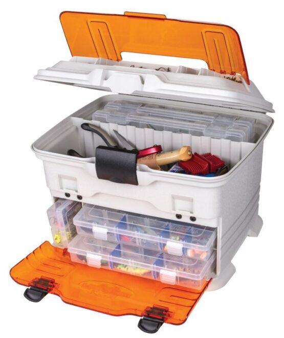 Caja Flambeau T4 Pro Multilader +5 Organizadores C/Zerust Naranja 2