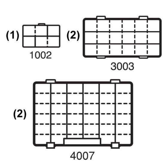 Caja Flambeau T4 Pro Multilader +5 Organizadores C/Zerust Naranja 3