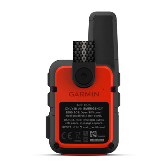 Dispositivo de Comunicacion por Satelite inReach® Mini Garmin Ligero y Compacto 3