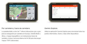 GPS Todoterreno para Autos motos y camiones Garmin Overlander™ 10