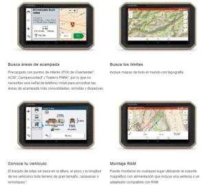 GPS Todoterreno para Autos motos y camiones Garmin Overlander™ 11