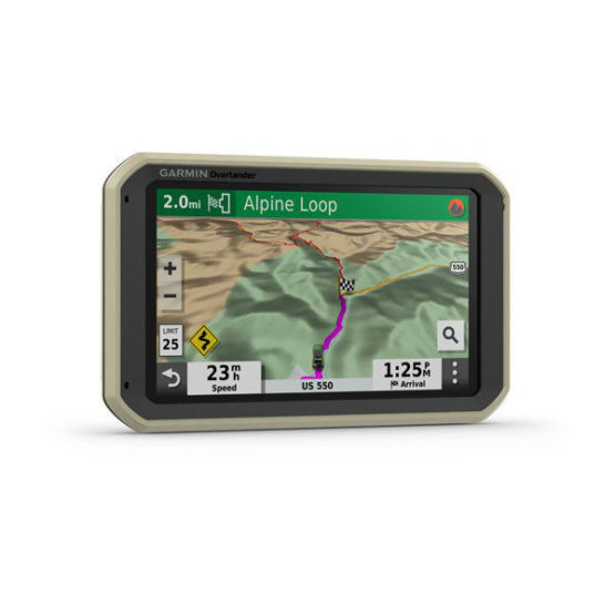 GPS Todoterreno para Autos motos y camiones Garmin Overlander™ 1