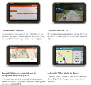 GPS Todoterreno para Autos motos y camiones Garmin Overlander™ 12