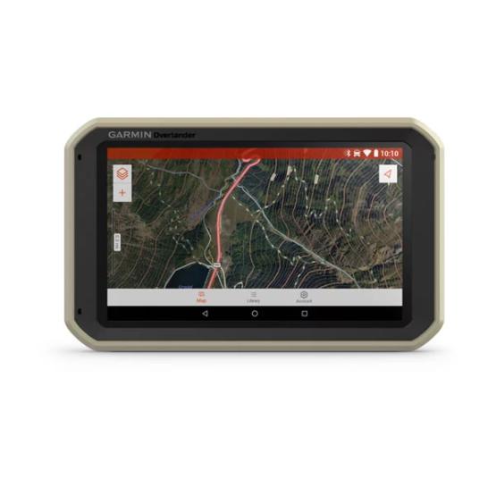 GPS Todoterreno para Autos motos y camiones Garmin Overlander™ 5
