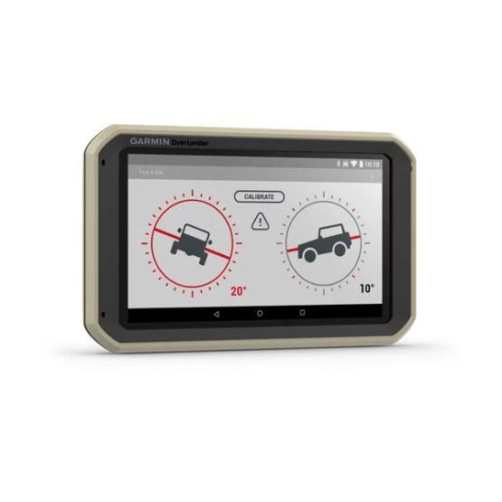 GPS Todoterreno para Autos motos y camiones Garmin Overlander™ 4