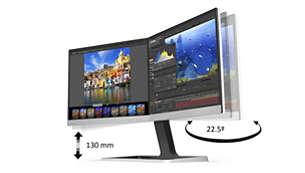 Monitor Doble Pantalla Philips 19DP6QJNS/27 720p 60hz RFAA 27