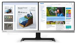 Monitor Doble Pantalla Philips 19DP6QJNS/27 720p 60hz RFAA 26