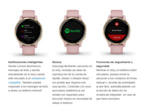 Reloj Inteligente Vivoactive® 4S Garmin con GPS 11