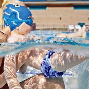 Swim Diaper Finis Pañal de Natacion Reutilizable 8