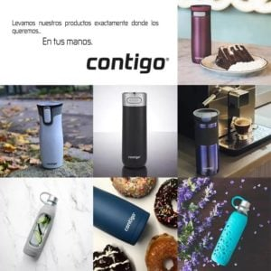 Botella Contigo Evoke Acero Inoxidable 710ml 4