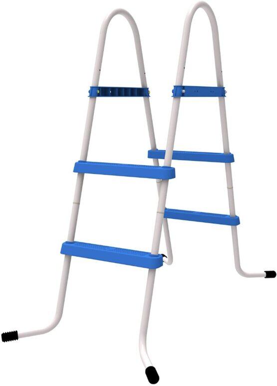 Escalera para Piscinas 73 cm Altura 2 Peldaños 1