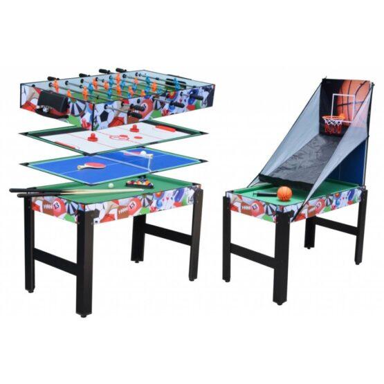 Mesa de juegos 5 en 1 Foxi Infantil 1