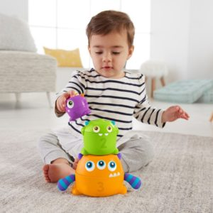 Monstruos Apilables Fisher Price 5