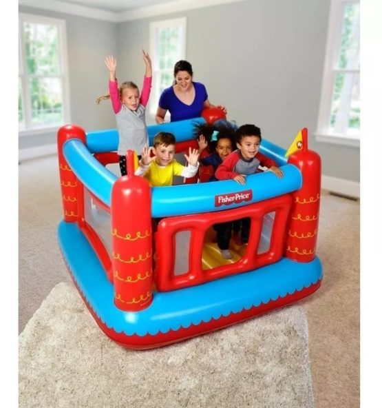 Pelotero Inflable Fisher Price 3
