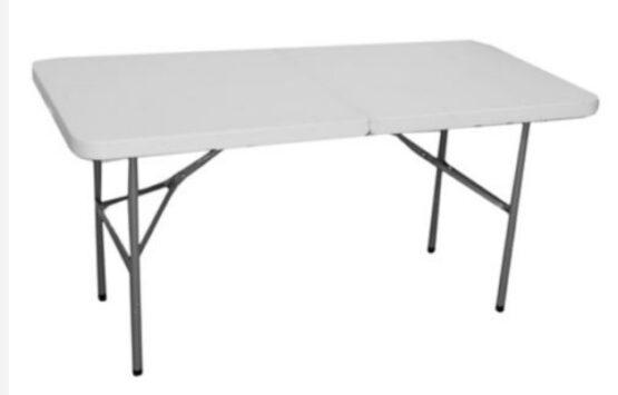 Mesa Plegable Blanca 150 cm Klimber 1