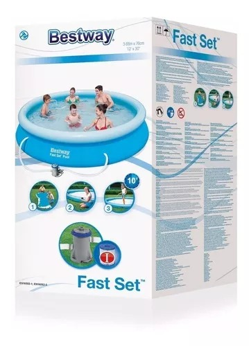 Piscina Inflable 5377 Lts Bestway con Filtro 2