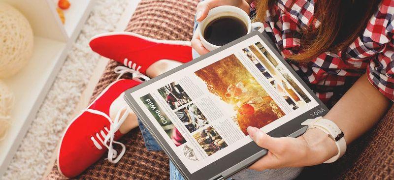 2 en 1: Tablet / Notebook Lenovo Yoga A12 REFAA 63