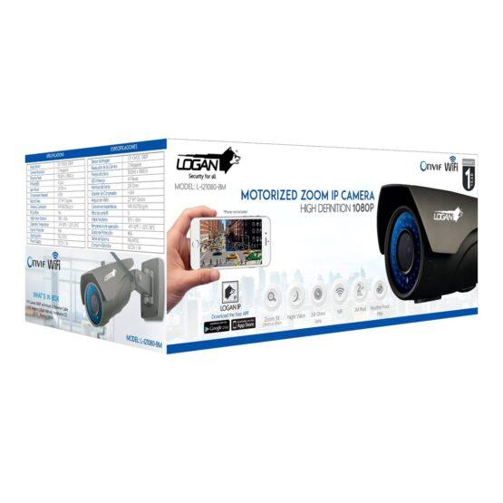 Camara Bullet Interior / Exterior WIFI Logan HD 1080P 3