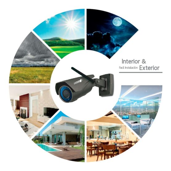 Camara Bullet Interior / Exterior WIFI Logan HD 1080P 2